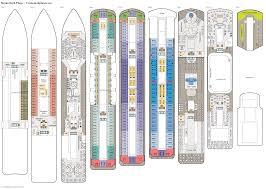 deck plans com sirena deck plans diagrams pictures