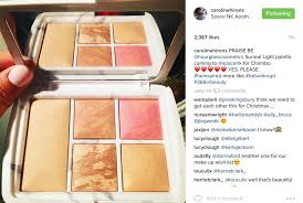 hourglass surreal light palette hourglass surreal light palette 2016 thou shalt not covet