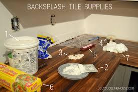 How To Add A Tile Backsplash In The Kitchen  The Ugly Duckling House - How tile backsplash