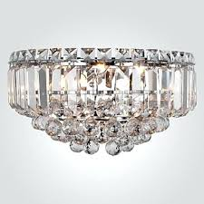 Crystal Wall Sconces Sconce Modern Crystal Wall Sconces Mid Century Modern Crystal