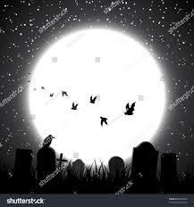 halloween background moon halloween theme background full moon shining stock vector 84876850