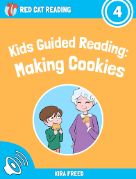 free kids book u2013 making cookies leveled reading by red cat reading