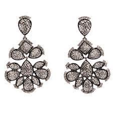 Gunmetal Chandelier Earrings Amrita Chandelier Earring Amrita Singh Jewelry