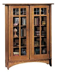 8 Shelf Bookcase Bookcase Mission Bookcase Glass Door Photos Mission Style