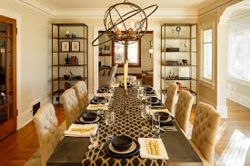 Dining Room Table Runners Beige Table Dining Room Transitional With Beige Wall Wood Floor