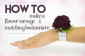 how to make boutonnieres how to make a corsage and matching boutonniereflower press