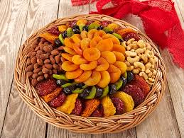 fruit and nut gift baskets large dried fruit nut tray
