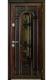 Plastic Front Door by Steel Wrought Iron Grill Security Entry Door