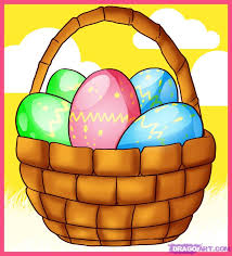 easter egg basket how to draw an easter basket step by step easter seasonal free