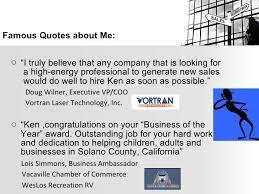 Resume About Me Ken Stout Sales Job Resume Powerpoint Presentation