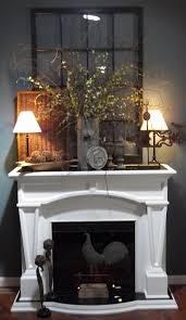 Unused Fireplace Ideas Fireplace Decor I Really Like The Greenery On The Mantle Smack