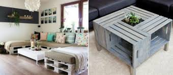 canapé en palette de bois un meuble en palette de bois pour chaque pièce de la maison diy