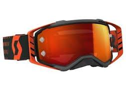 motocross goggles ebay 2018 scott prospect motocross mx goggles black orange orange