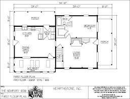 hearthstone log and timber frame homes newport model