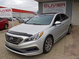 used 2015 hyundai sonata sport in baie comeau used inventory