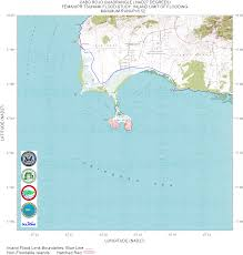 Puerto Rico On World Map Puerto Rico Tsunami Flood Maps Nad27