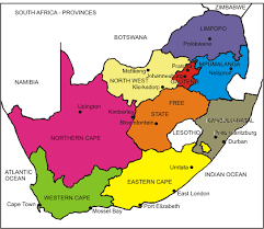 map of south africa south africa political map south tax guide