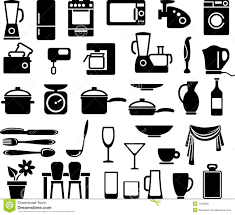 Home Kitchen Equipment by Kitchen Ware And Home Appliances Stock Photo Image 7425800