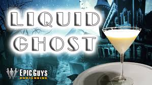 how to make a liquid ghost cocktail halloween cocktail recipe
