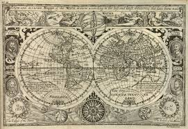Accurate Map Of The World File Vaughan A New And Accurate Mappe Of The World Drawne