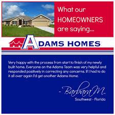 adams homes home facebook