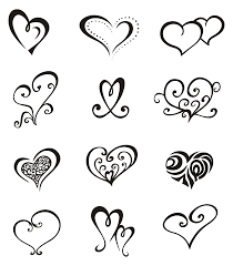 love symbol tattoo sketch tattoomagz