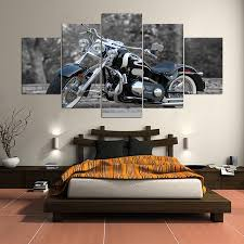 motorcycle home decor trendy d wall murals wallpaper for living