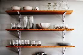 Rustic Kitchen Shelving Ideas by Latest Kitchen Wall Shelves Kitchen Wall Shelving Traditional