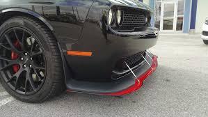 chrysler 300 hellcat swap apr carbon fiber front splitters srt hellcat forum