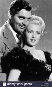 lana turner hair styles clark gable u0026 lana turner honky tonk 1941 stock photo royalty