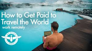 get paid to travel images How to get paid to travel work remotely jpg