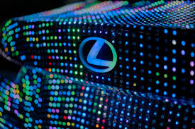 lexus in torrance lexus unveils led covered lit is with premiere of dua lipa u0027s u201cbe