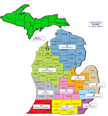 map of michigan district map lions of michigan
