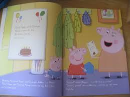 review personalised peppa pig book
