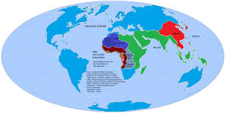 Palestine On World Map by Aryanism White Nationalists