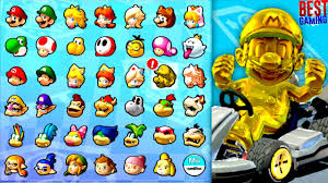 mario kart 8 deluxe characters golden mario
