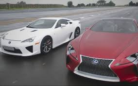 lfa lexus 2016 feature flick lexus lf lc concept steals show from lfa supercar