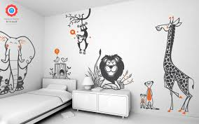 pochoir chambre enfant étourdissant pochoir chambre enfant avec sticker mural lionglue sur