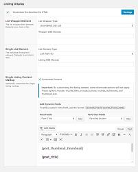 Html List Template Favorites Wordpress Plugins
