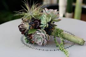 succulent bouquet succulent wedding bouquets make