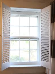 Shutters For Inside Windows Decorating How To Install Interior Plantation Shutters How Tos Diy