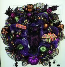 halloween deco good halloween wreath halloween deco mesh wreath