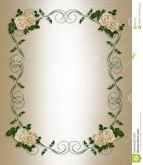 wedding invitation background free download wedding invitation antique roses royalty free stock photo image
