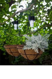 flower pot solar light 111 best hanging basket images on pinterest hanging baskets