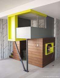 fabriquer chambre fabriquer un lit cabane with éclectique chambre d enfant