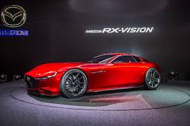 mazda rx7 rotary engine mazda rx vision rotary engined sports car concept revealed autocar