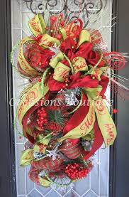 christmas door swag christmas wreath holiday wreath