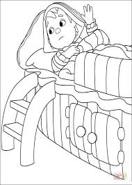 andy pandy sick coloring free printable coloring pages