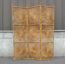 Wicker Room Divider Vintage Wicker Rattan Folding Screen Room Divider Patterns And