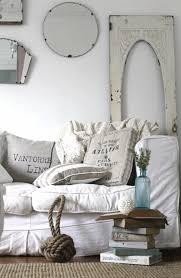 wandspiegel wohnzimmer shabby chic wohnzimmer ideen einrichtung weißes leinen